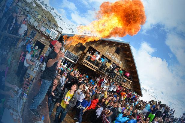 Osem najluxusnejších après ski barov na svete- ©la Folie Douce