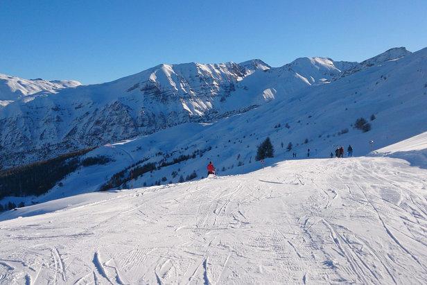 domaine skiable de Crévoux