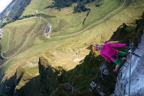 Klettersteig Kitzbüheler Horn : Juni stimmungsvolle klettersteig eröffnung am kitzbüheler
