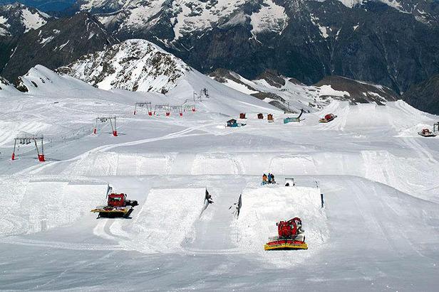 (ete) - Les 2 Alpes - Glacier