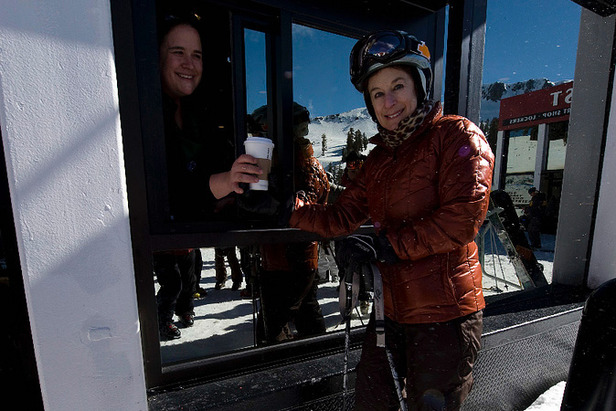 The First Ski In/Out Starbucks In The World Is Here