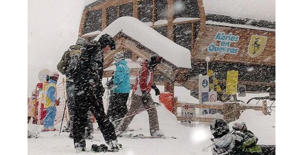 Importantes chutes de neige dans le Queyras