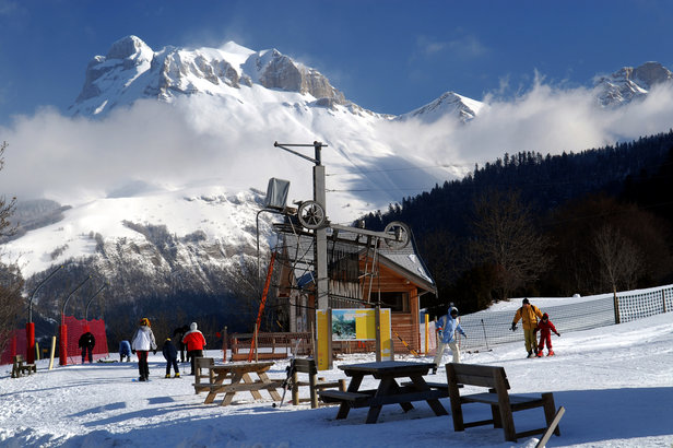 pistes de ski de Lus la Jarjatte
