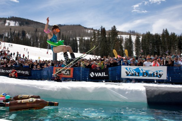 Spring Back to VailTuaca Pond Skimming  - © Thomas H Green