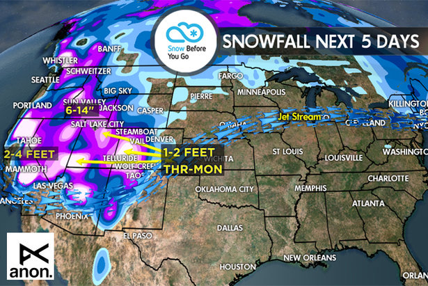 1.19 Snow Before You Go: 3 Significant Storms Westbound- ©Meteorologist Chris Tomer