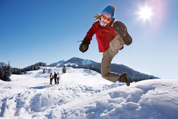 Familien mit Winterlust schneien in Kärnten rein