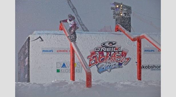 Men's Qualifiers and Powder Lines At O'Neill Evolution