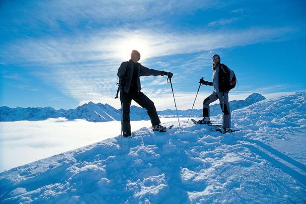 Abenteuer Gottesacker im Kleinwalsertal: Mit Schneeschuhen zu den Mythen der Region