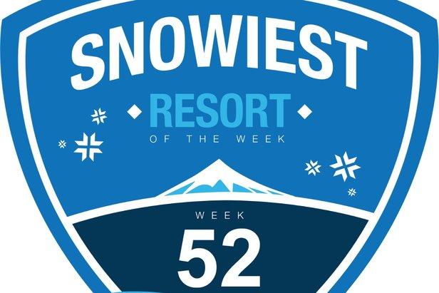 Bjorli skisenter fikk mest snø i hele Europa gjennom den siste uken i 2016.