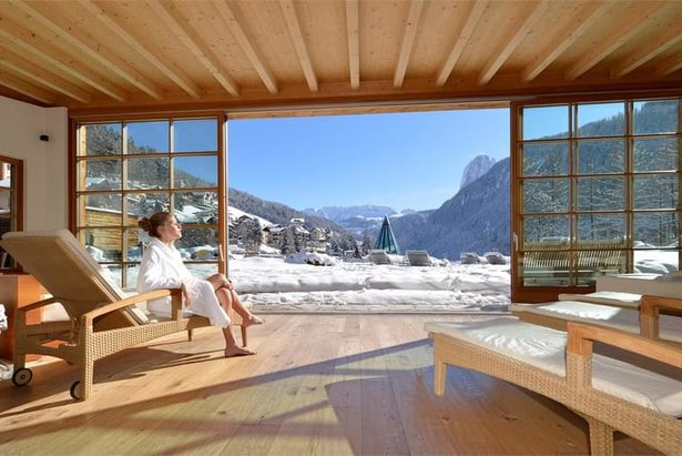 Relax e wellness nel Dolomiti Superski