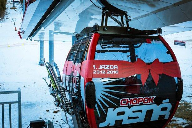 Jasna Niskie Tatry - nowa gondola na południowej stronie Chopoka