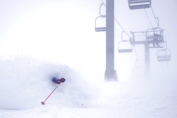 Loveland claims 28 inches in 48 hours.