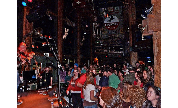 The Mangy Moose attracts national acts to Teton Village nearly every weekend.  - © Photo Courtesy of Mangy Moose Saloon