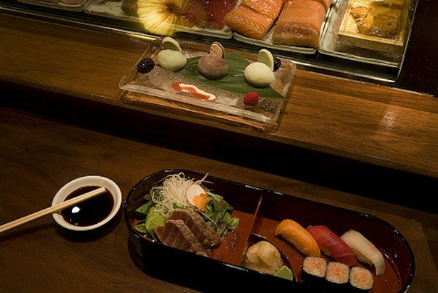 At Matsuhisa in Aspen, your Bento Box might feature fish from the East Coast, West Coast, Europe and Japan.