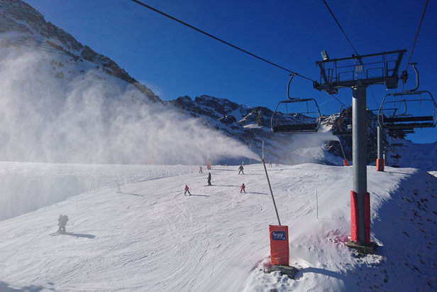 Grand Tourmalet : Des conditions de ski qui s'améliorent ©Grand Tourmalet