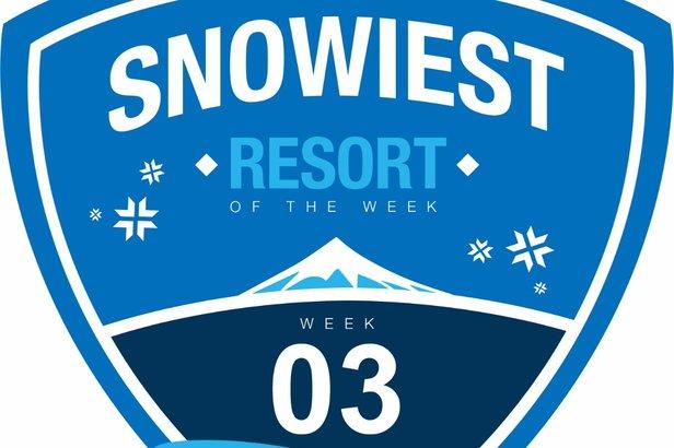 Snowiest Resort of the Week: Kalenderwoche 3