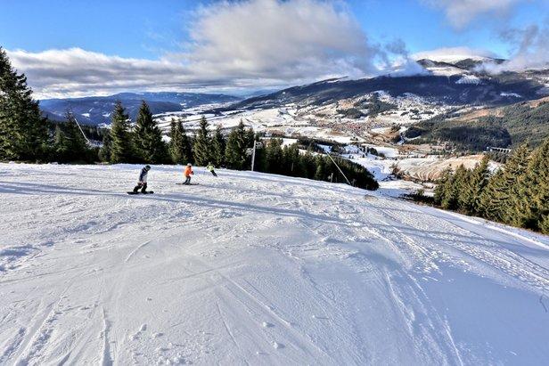 Snehové správy  Lyžiarska sezóna je v plnom prúde! fbee4796e47
