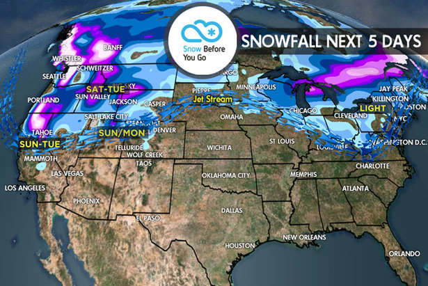 3.2 Snow Before You Go: Powder Refills for Tahoe & Northwest