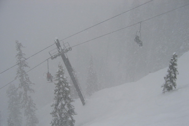 Nearly A Foot Of Snow Daily For Western US Resorts