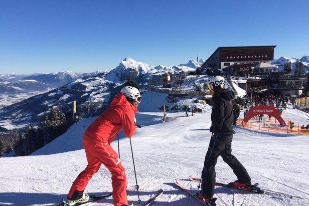 Najväčšie lyžiarske strediská v Rakúsku  6 – Kitzbühel 9373be5fce8