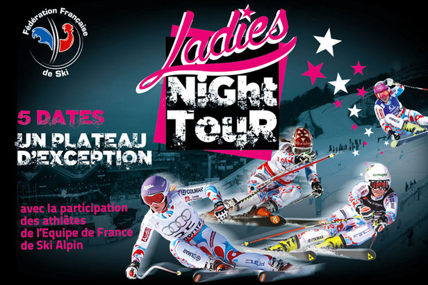RDV jeudi 2 mars à Manigod pour les finales du Ladies Night Tour