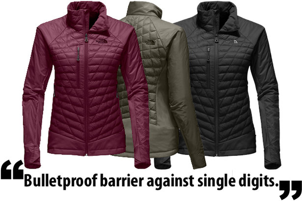Gear In Review The North Face Womens Desolation Thermoball Jacket