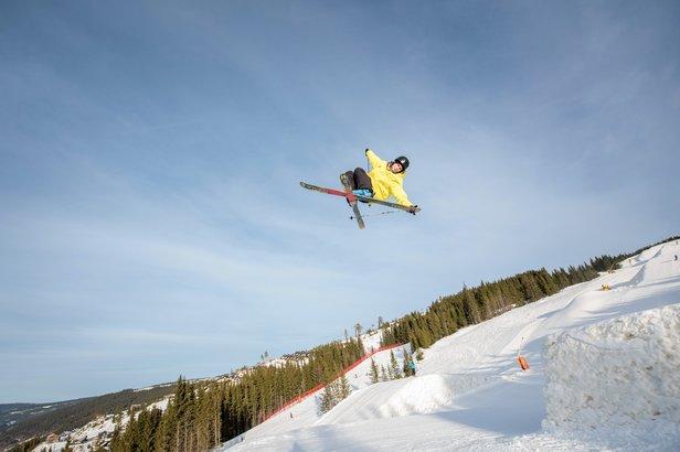 Aktiviteter for store og små i vinterferien- ©Gisle Johnsen/Hafjell Alpinsenter