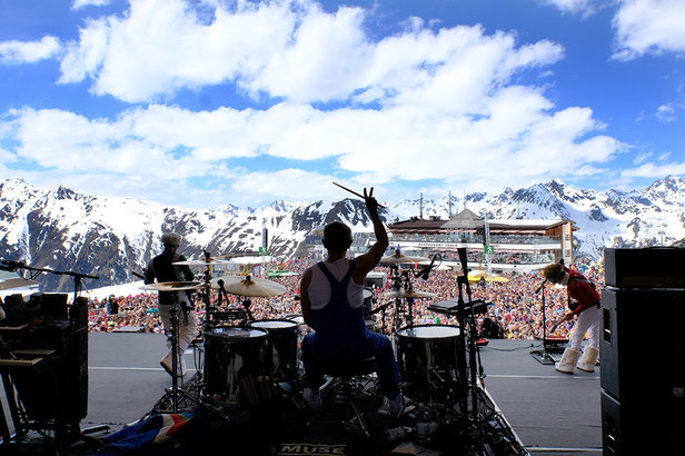 Koncert Top of the Mountains w Ischgl  - © TVB Paznaun-ischgl