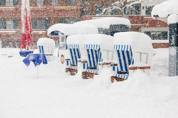 Přijde třeskutá zima? Takhle vypadají meteorologické předpovědi. ©Facebook Lech Zürs