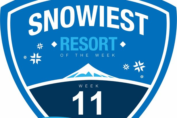 Sneeuwrijkste gebied week 11.