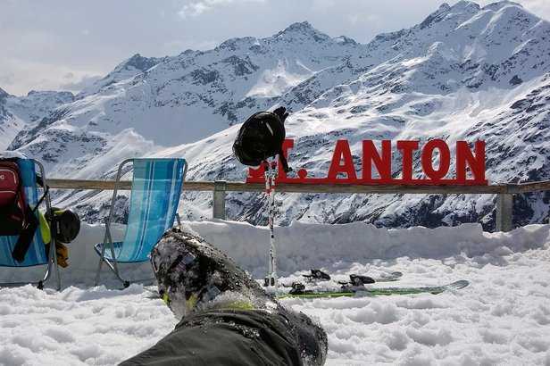 Wiosenne narty w St. Anton am Arlberg