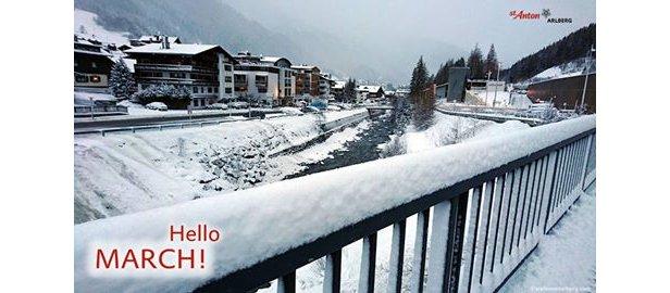 Weerbericht: een turbulent weekend.- ©Facebook St. Anton am Arlberg