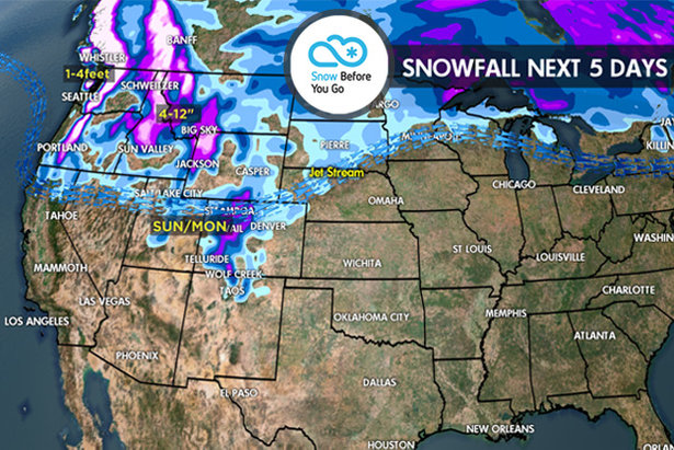 11.30 Snow Before You Go: Large Storm System for the West