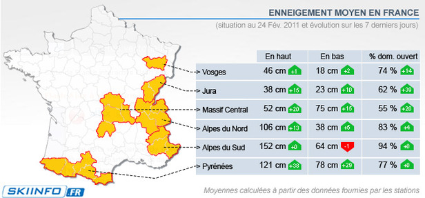 Carte Massifs (24/02/2011)