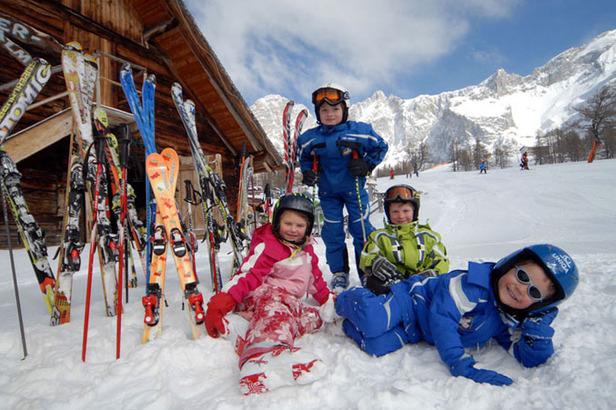 Das Skigebiet für Familien in Ramsau am Dachstein: Österreichs sonnigste Skiwiesen