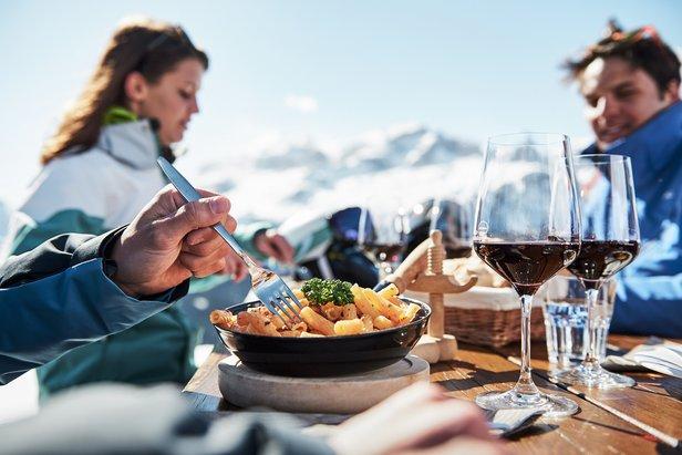 Alta Badia, Sciare con Gusto