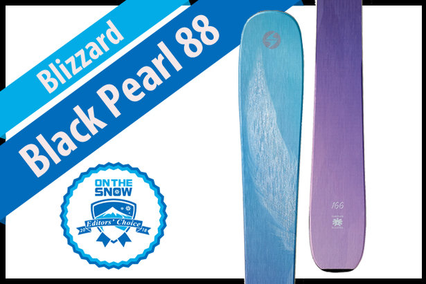 Blizzard Black Pearl 88: Women's 17/18 All-Mountain Front Editors' Choice Ski- ©Blizzard