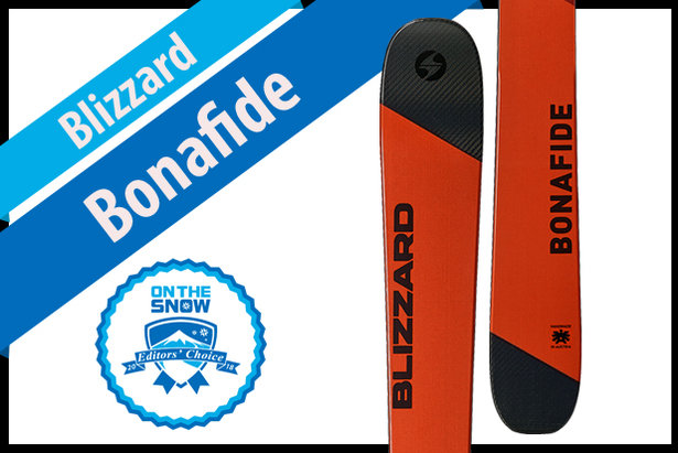 Blizzard Bonafide: Men's 17/18 All-Mountain Back Editors' Choice Ski ©Blizzard
