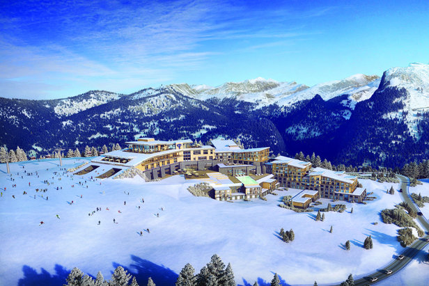Le tout nouveau Club Med Grand Massif Samoëns-Morillon (ouverture pour l'hiver 2017/2018)  - © Club Med