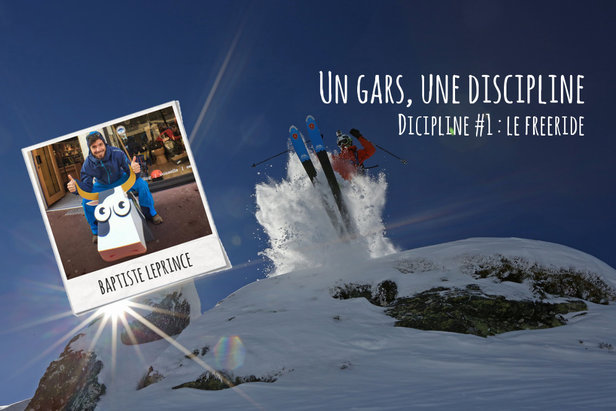 Comment débuter le ski freeride ?Baptiste Leprince