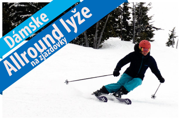 Dámske Allround lyže na zjazdovky 2017/2018