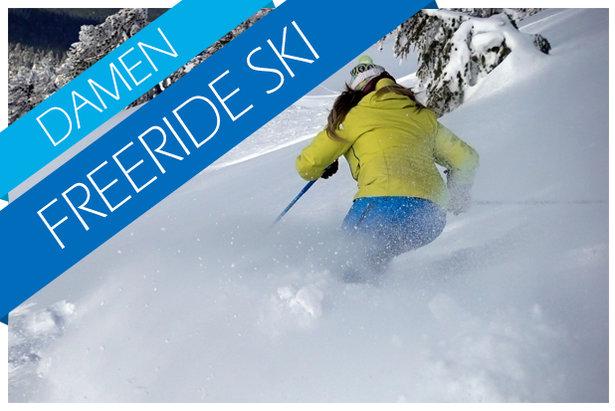 Freeride Ski Test (Damen) 2017/2018- ©Skiinfo / OnTheSnow / Realskiers.com