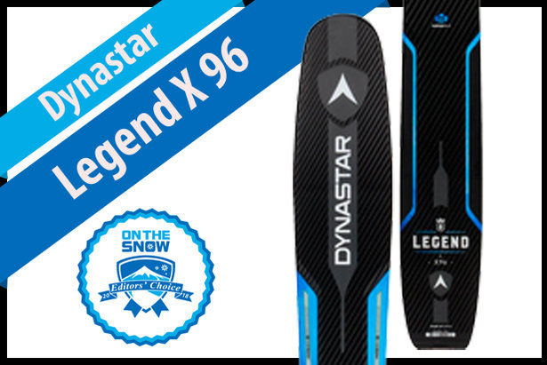 Dynastar Legend X 96: Men's 17/18 All-Mountain Back Editors' Choice Ski ©Dynastar