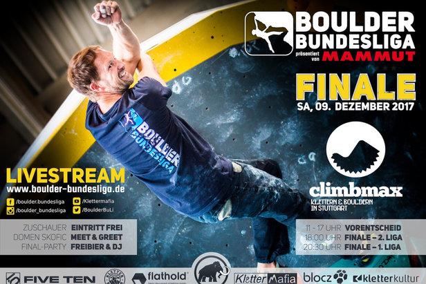Finale der Boulder Bundesliga in Stuttgart: Hojer und Bestvater favorisiert - ©Boulder Bundesliga