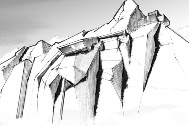 Na szczycie Gaislachkogl w Sölden ma zostać otwarta  supernowoczesna instalacja kinowa inspirowana filmami o Jamesie Bondzie  - © Tm Danjaq