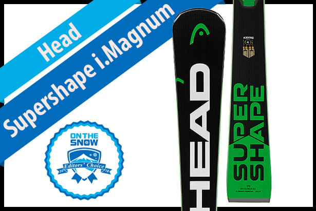 Head Supershape i.Magnum: Men's 17/18 Technical Editors' Choice Ski ©Head