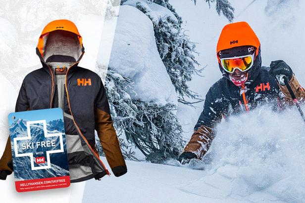 Votre journée ski gratuite avec Helly Hansen- ©Helly Hansen