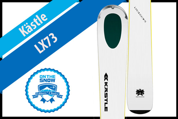 Kästle LX73, women's 17/18 Technical Editors' Choice ski.
