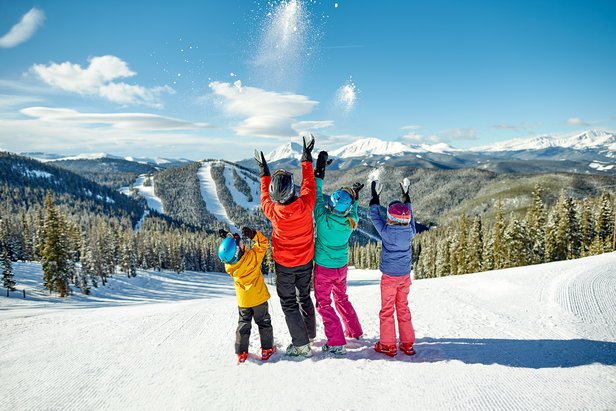 The variety of terrain at Keystone makes it a great place to learn to ski.   - © Keystone Resort