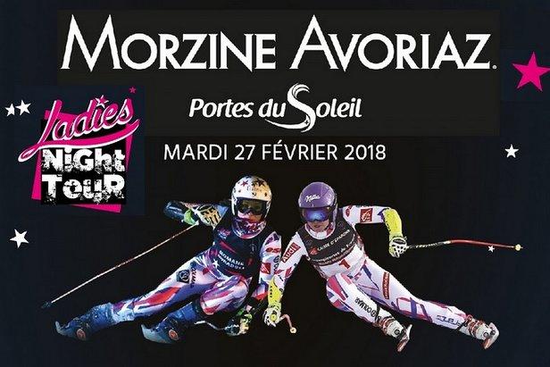 Ladies Night Tour Morzine - ©Office de Tourisme Morzine Avoriaz